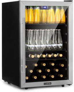 Beersafe 5XL kylskåp drycker 148L A+ glas rostfritt stål