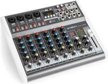 VMM-K802 8-anal-mixer, USB-Port, BT-mottagning, 16-DSP, +48V fantommatning