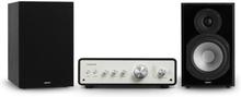 Drive 802 stereo-set stereo-förstärkare + högtalare svart