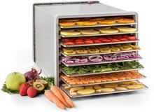 Fruit Jerky 8 torkningsautomat dehydrator 630W 8 nivåer rostfri