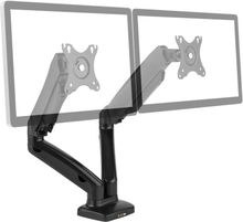 "LDT13-C024USB Dubbel-Monitor-Bordsstativ LED LCD 27"" 2x6.5kg"