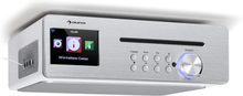 Silverstar Chef köksradio max 20W CD BT USB internet/DAB+/FM vit