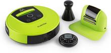 Cleanhero Robotdammsugare Dammsugare Automatisk Fjärrkontroll Grön