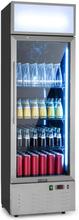 Berghain Pro dryckeskylskåp 188l RGB-innerbelysning 162W rostfritt stål