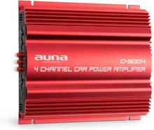 C500.4 4-Kanalförstärkare Autoförstärkare 4x 65W RMS