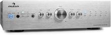 CD708 stereoförstärkare AUX Phono silver 600 W