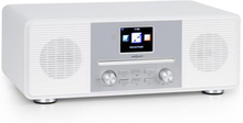 Streamo CD internetradio 2x10W WLAN DAB+ FM CD-player BT vit