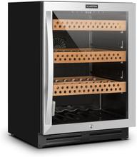 El Presidente 127 humidor 127L glasdörr touch-display rostfritt stål