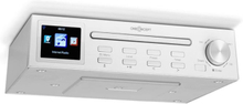"Streamo Chef köksradio CD-player BT 2,4""HCC display vit"