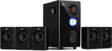 Concept 520 5.1 högtalarsystem 75 W RMS OneSide subwoofer BT USB SD