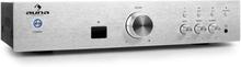 AV2-CD508BT HiFi-förstärkare silver AUX Bluetooth