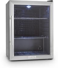 Beersafe XL kylskåp 60 liter klass A ++ glasdörr rostfritt stål