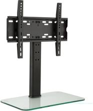 TV-stativ Storlek M Höjd 56 cm justerbar 23-47 tum Glasfot