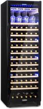 Vinovilla Onyx Grande stort-vinkylskåp 433l 165 flaskor svart