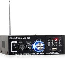 AV-360 HiFi-stereo-försärkare USB SD MP3 AUX FM