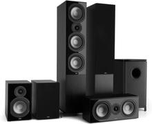Reference 851 5.1-Soundsystem svart inkl. överdrag i svart