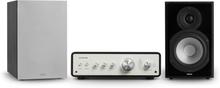 Drive 802 stereo-set stereo-förstärkare + högtalare svart / grå