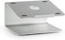 A-ST-2 Laptop-Hållare Notebook-Stativ 18° Vridbar 360° Aluminium silver