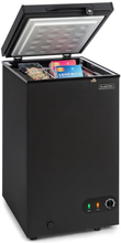 Iceblokk 80 frysbox fristående 78Ltr kan låsas A+ svart