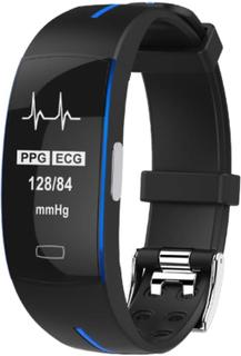 eStore P3 Aktivitetsarmbånd med PPG og EKG - Blå
