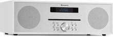 Silver Star CD-FM max 2x20W Slot-In CD-player FM BT aluminium vit
