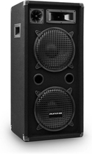 """PW-10x22 MKII passiv PA-högtalare 2x10"""" subwoofer 450W RMS/900 W"""