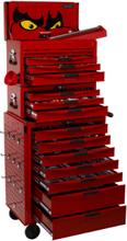 Wózek narzędziowy z zestawem narzędzi 1055 elementów TCMM1055N