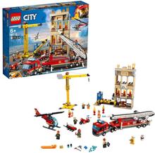 LEGO City Fire 60216 - Brandkåren i centrum