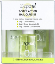 Depend 3-Step Action Nail Care Kit