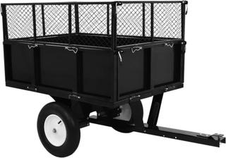 vidaXL vipbar havevogn 300 kg lastkapacitet