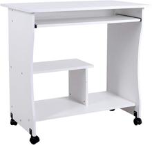 Computerskrivebord, skrivebord med hjul