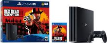 PlayStation 4 Pro Inkl. Red Dead Redemption II 1TB Sort