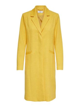 ONLY Long Coat Women Yellow