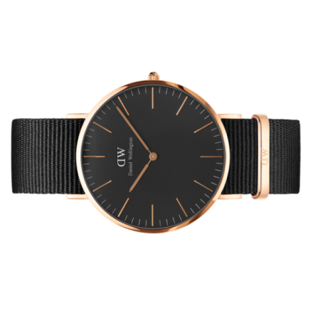 DW Classic Black Cornwall 36mm Rosè gull