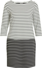 VILA Striped Simple Mini Dress Women White