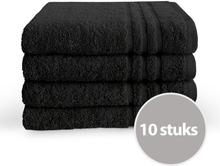 Byrklund Handdoek 50x100 cm 500gram Zwart - 10 stuks