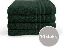 Byrklund Handdoek 50x100 cm 500gram Donker Groen - 10 stuks