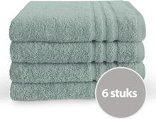 Byrklund Handdoek 50x100 cm 500gram Zeeblauw - 6 stuks