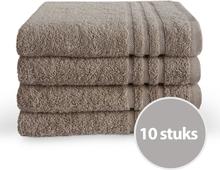 Byrklund Handdoek 50x100 cm 500gram Taupe - 10 stuks