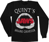 Jaws - Quint´s Shark Charter Long Sleeve Tee Black