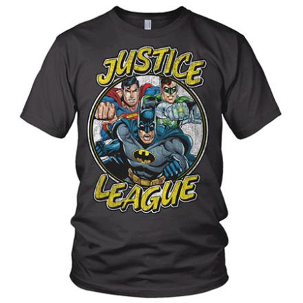 Justice League Team Tee, Basic Tee