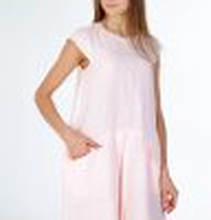 Linnea Pleated Front Pink Dress