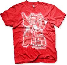 Optimus Prime Splatter T-Shirt, Basic Tee