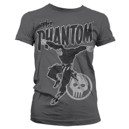 Phantom Jump Distressed Girly T-Shirt, Girly T-Shirt