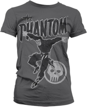 Phantom Jump Distressed Girly T-Shirt, Girly T-Shirt