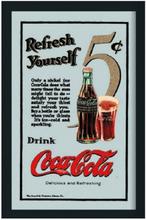Barspegel Coca-Cola 'Refresh Yourself'