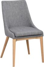Bea stol Mörkgrå/ek