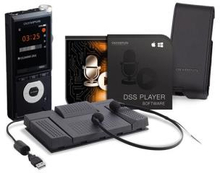 Olympus Dictation & Transcription Starter Kit (DS-2600 and AS-2400)