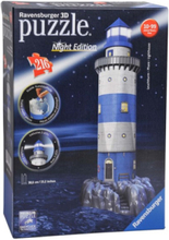 3D Puzzle Lighthouse Night Edition 3D pusselspel
