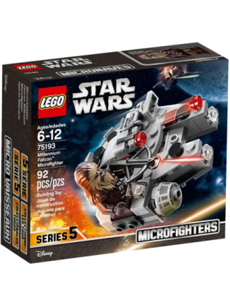 Star Wars 75193 Millennium Falcon™ Microfighter - Proshop